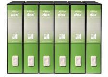 Registratori Dox 2 - dorso 8 cm - 23x34 cm - verde Greenery - D26226