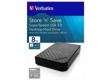 Hard Disk Esterno Verbatim Store'n ' Save 3.0 8 TB 47687 - Y05660