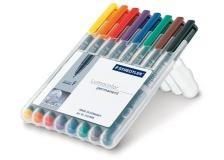 Busta 8 pennarelli lumocolor permanent 318 f 0.6mm - Z00028