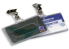 Portanome 9x5,6cm semirigido c/clip 31-070 lebez - Z00236