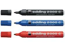 Marcatore edding 2000c rosso p.conica - Z00363