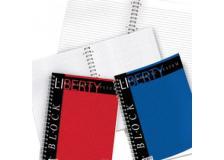 Blocco liberty block spirale 220x290mm 5mm 80fg 70gr pigna - Z00484