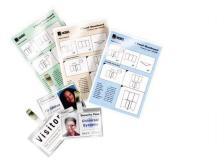 Scatola 100 pouches 125mic 81x119mm swiss card - Z00751