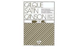 Blocco carta lucida manuale A3 50fg 90gr canson - Z00981