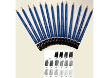 Matita grafite mars® lumograph® 100-6h staedtler - Z01381