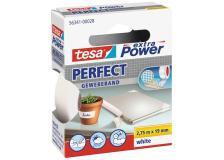 Nastro adesivo in tela tesa extra Power®Perfect plastificato 19 mm x 2,75 - Z01420