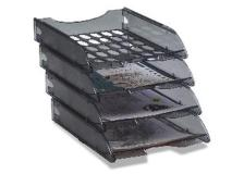 Vaschetta portacorrispondenza e040 fume' trasparente modula leonardi - Z01794