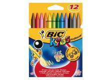 Astuccio 12 pastelli kids plastidecor bic - Z01990