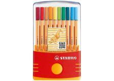 Astuccio 20 pennarelli stabilo point 88 color parade - Z02386