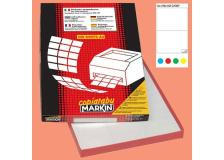 Etichetta adesiva c/509 blu 100fg A4 210x148mm (2et/fg) markin - Z02448