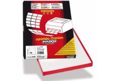 Etichetta adesiva c/550 bianca 100fg A4 210x280mm (1et/fg) markin - Z02533