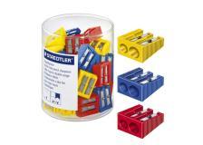 Barattolo 50 temperamatite 2 fori colorati staedtler - Z02931