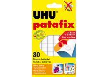 Blister 80 supporti gomma adesiva uhu patafix bianco - Z02975