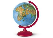 Globo geografico illuminato zoo globe ø 26cm novarico - Z03370