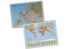 Sottomano geographic planisfero 40x53cm laufer art.45350 - Z03625