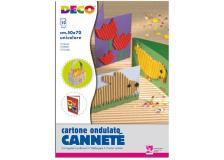 10fg cartoncino ondulato 50x70cm rosa art 2206/8 cwr - Z04037