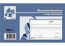 Blocco ricevute generiche 33fogli 3 copie autoric. 9,9x17 e5564ct - Z04066