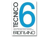 Blocco tecnico 6 25x35cm 20fg 240gr liscio fabriano - Z04447