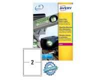 Poliestere adesivo l7068 bianco 20fg A4 199,6x143,5mm (2et/fg) laser avery - Z04501