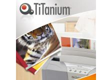 50 cartelline termiche 1,5mm bianco grain titanium - Z05062