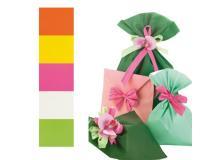 50 buste regalo in ppl perla mat 40x65cm assortimento 5 colori - Z05192