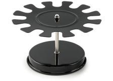 Portatimbri circolare 12posti nero in metallo koala - Z05588