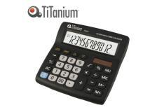 Calcolatrice da tavolo 12 cifre 73031 titanium - Z05673