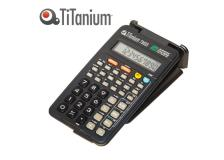 Calcolatrice scientifica 10 cifre 73033 titanium - Z05675