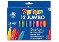 Astuccio 12 pennarelli jumbo superlavabili primo - Z05694