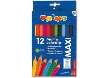 Astuccio 12 pastelli colorati maxi jumbo 100 fsc primo - Z05700