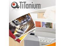 25 cartelline termiche 1,5mm rosso grain titanium - Z05838