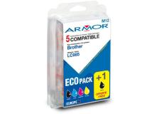 Conf. multipla 5 cartucce lc 985 per c/brother (2bk 1c/m/y) - Z06033