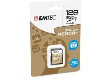 Sdxc emtec 128gb class 10 gold + - Z06325