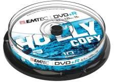 Dvd+r emtec4,7gb 16x spindle (kit 10pz) - Z06358