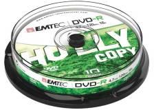 Dvd-r emtec4,7gb 16x spindle (kit 10zp) - Z06372