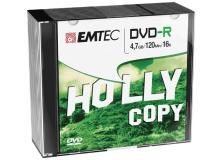 Dvd-r emtec 4,7gb 16x slim case (kit 10pz) - Z06373