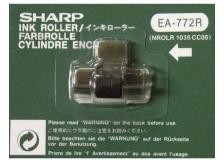 Nastro Sharp EA-772R nero-rosso - Z08774