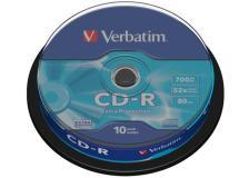Scatola 10 cd-r datalife spindle 1x-52x 700mb serigrafato crystal - Z09405
