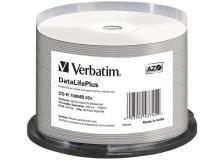 Scatola 50 cd-r bulk datalifeplus spind. 1x-52x 700mb stamp.wide inkjet photo - Z09408
