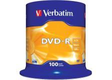 Scatola 100 dvd-r spindle 16x 4.7gb serigrafata - Z09422