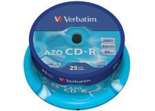 Scatola 25 cd-r datalifeplus spindle 1x-52x 700mb serigrafato - Z09435
