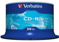 Scatola 50 cd-r datalife spindle 1x-52x 700mb serigrafato extra protection - Z09437