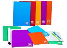 Quaderno A5 1rigo 20fg+1 80gr one color blasetti - Z10087