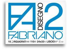 Album p.m. fabriano2 (240x330mm) 10fg 110gr liscio squadrato - Z10144