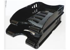 Vaschetta portacorrispondenza nero sunrise arda - Z11015