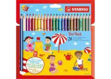 Astuccio 24 pastelli trio maxi stabilo - Z11195