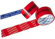 Nastro antieffrazione rosso 50mmx50mt viva - Z11318