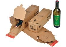 Scatola spedizione 74x74x305mm modulo base x 1 bottiglia - Z11512