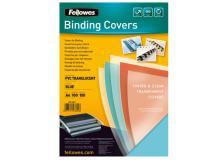 100 copertine colorate A4 pvc 200mic blu fellowes - Z11780