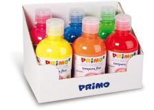 Tempere fluo 300 ml 6 pz colori assortiti primo - Z11792